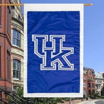 28'' x 44'' Team Logo Applique Flag: Logos Appliques, Flags Visit, Side Flags, Flags 3699, 44 Inch Appliques, Wildcats Flags, Team Logos, Kentucky Wildcats, Appliques Flags
