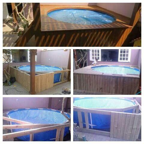 M s de 25 ideas incre bles sobre piscina pl stica en for Ideas para piscinas plasticas
