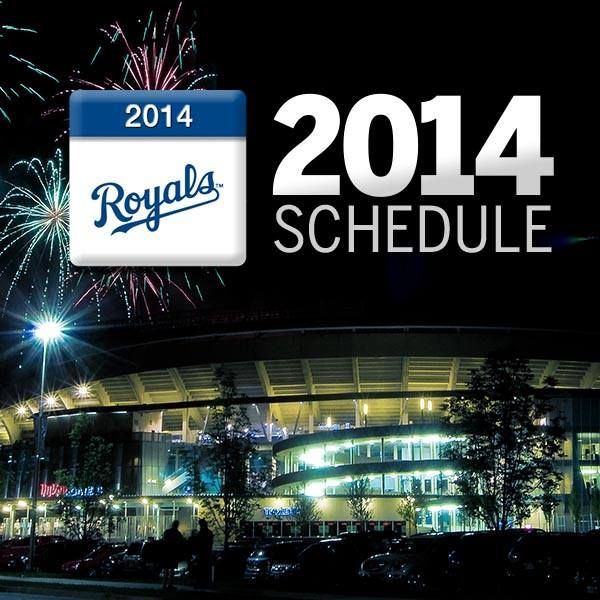 The 2014 Royals Schedule has been announced.Check out next year's match-ups!