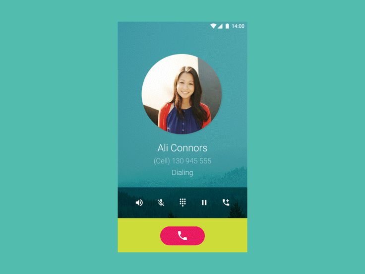 TouchWiz Material Design UI Animation #001 (Dialler App)