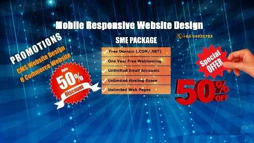 Website Design $500 And E Commerce Website Design $1000 Unlimited Pages in Singapore  ,   We are  website design in Singapore…