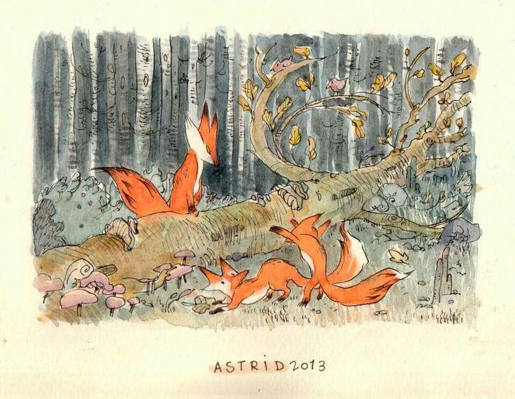 Art by astrid  fox