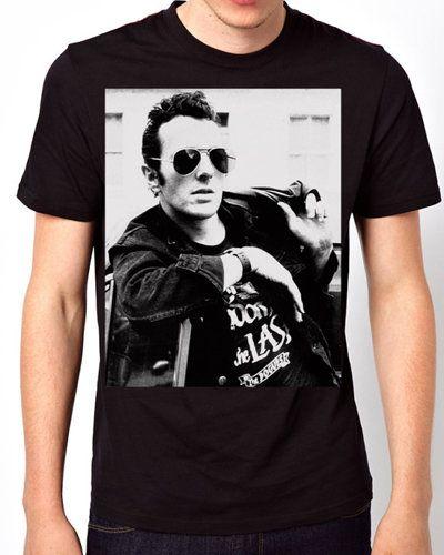 iOffer: Joe Strummer The Clash Alternative rock Black T-Shirt for sale on Wanelo
