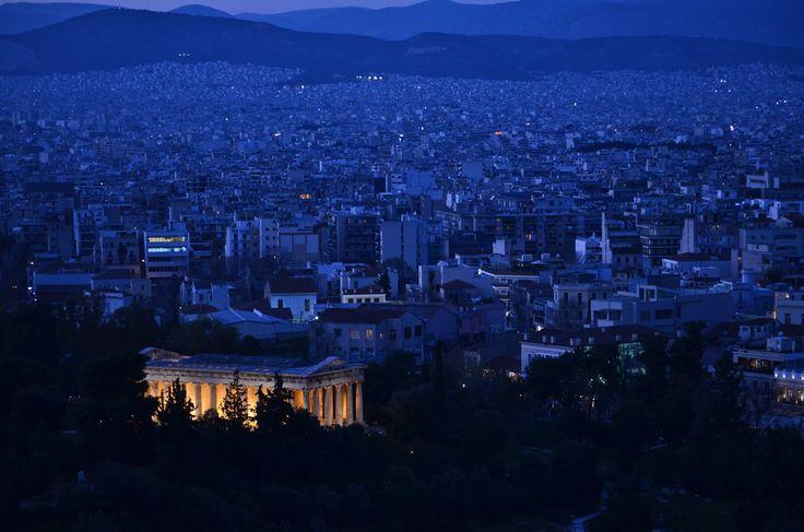 Temple of Hephaestus. Athens, Greece