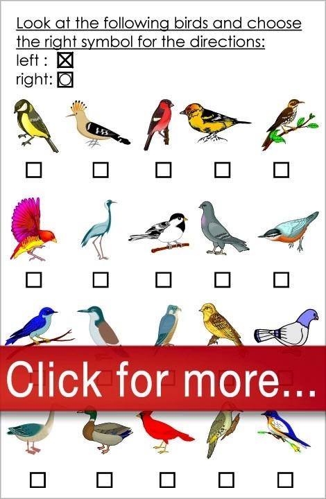 Free printable worksheets, American Dyslexia Association