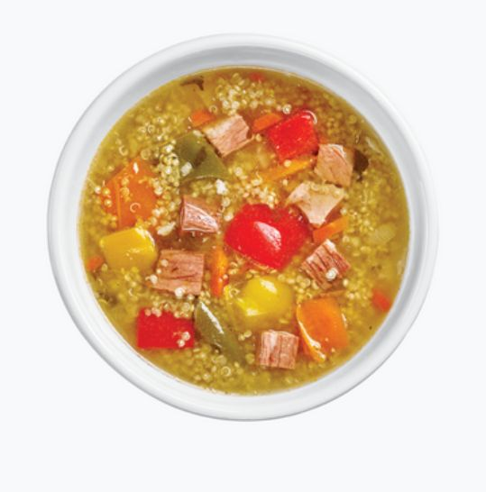 Quinoa and Beef Soup from #YummyMarket