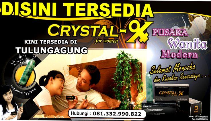 Jual Crystal X di Tulungagung.  Kami Menjual Crystal X di Tulungagung Kami Agen Crystal X di Tulungagung.  Untuk Pembelian Hubungi: Ibu. Tutik Masfiyah HP: 081 332 990 822 (Simpati)