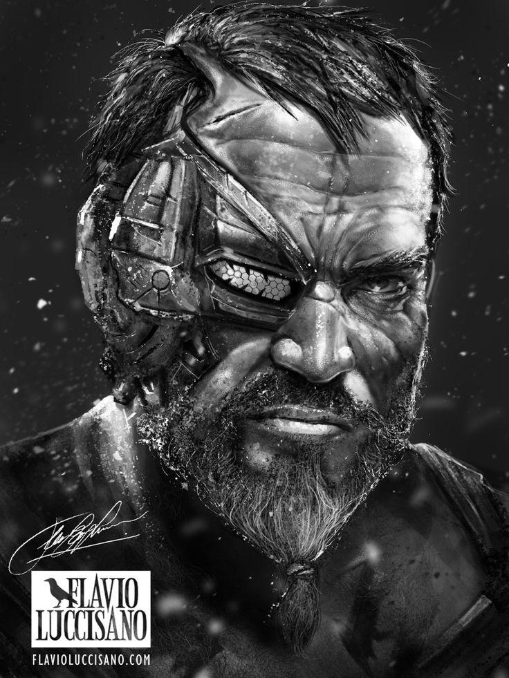 Kano (Mortal Kombat X) by flavioluccisano.deviantart.com on @DeviantArt