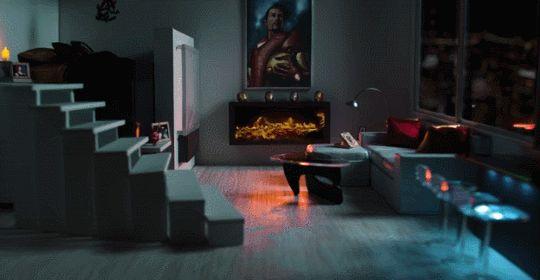 La chimenea de Iron-Man: El canal de YouTube de Marvel publicó una serie de videos de una hora cada uno con chimeneas de sus personajes famosos. Esta es la de Tony Stark. Cuanta humildad la de su sala no? [x]