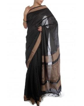 Black Saree by SSC