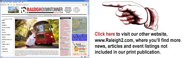Raleigh Downtowner Magazine