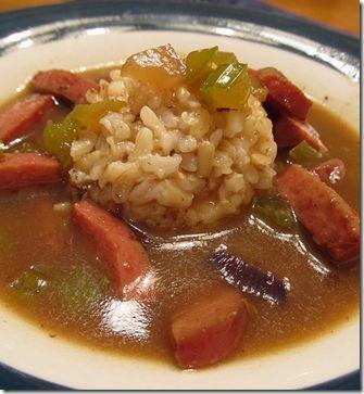 Duck & Smoked Sausage Gumbo--Chef John Folse's recipe!