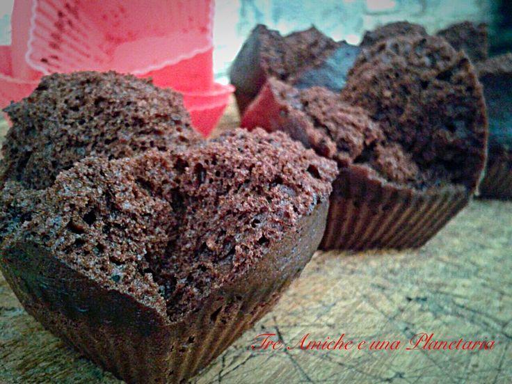Tortino al cioccolato cottura al vapore