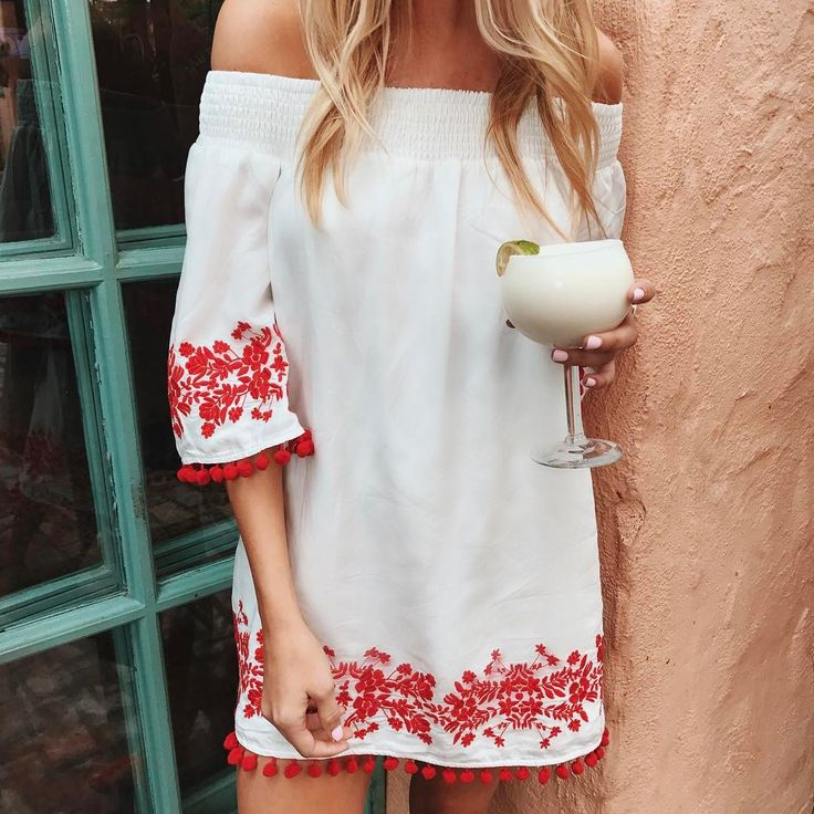 Ready to fiesta in our @revolve exclusive Presley Dress