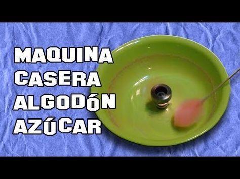 Como Hacer una Máquina de Algodón de Azúcar | Experimentos Caseros - YouTube