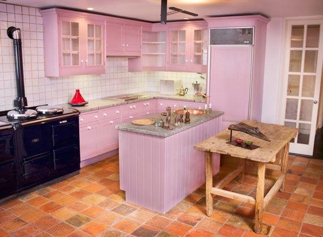 Pinke küche  Die besten 25+ Pink kitchen cabinets Ideen auf Pinterest | Rosa ...