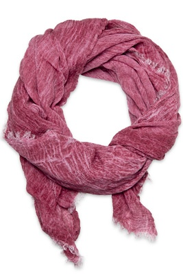 Deluxe shawl in wine from syster P. It is like the name - soft and luxurious. This we know will be your favorite shawl for a long time to come!
