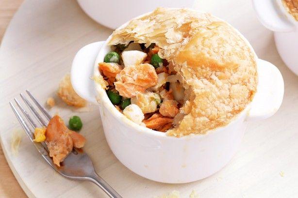 Fish pot pies main image
