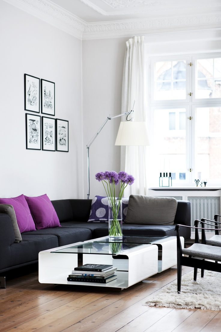 Hover table from Anne Linde in a private home in Copenhagen