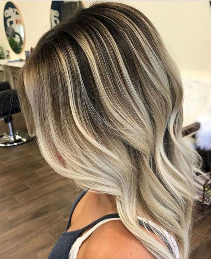 48 Best Rooty Blonde Balayage to Inspire You #Fashion https://seasonoutfit.com/2018/01/14/48-best-rooty-blonde-balayage-to-inspire-you/