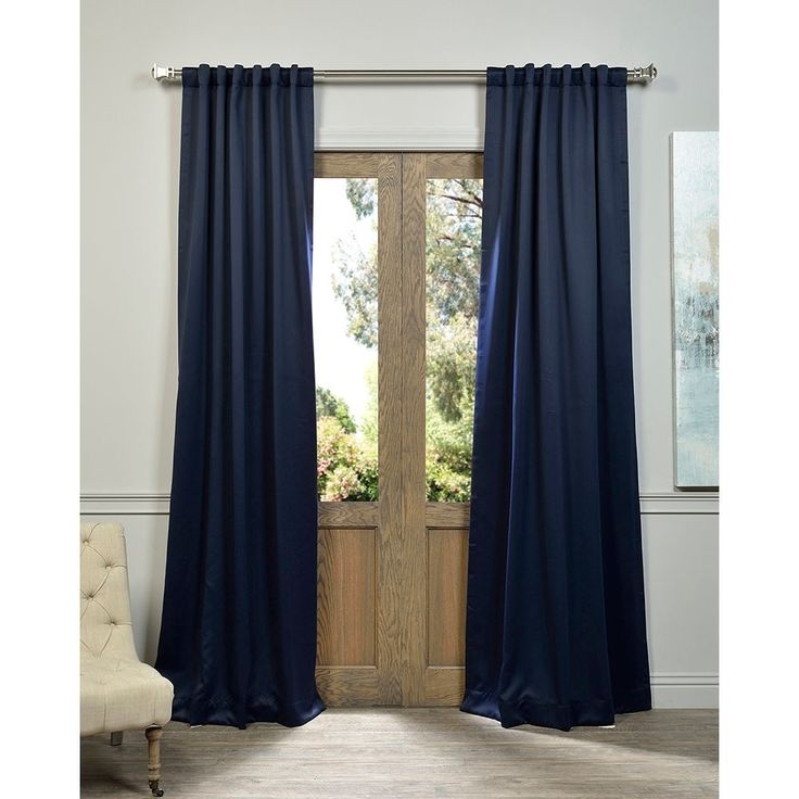 1000 ideas about navy blue curtains on pinterest curtains sheer curtains and all white room. Black Bedroom Furniture Sets. Home Design Ideas