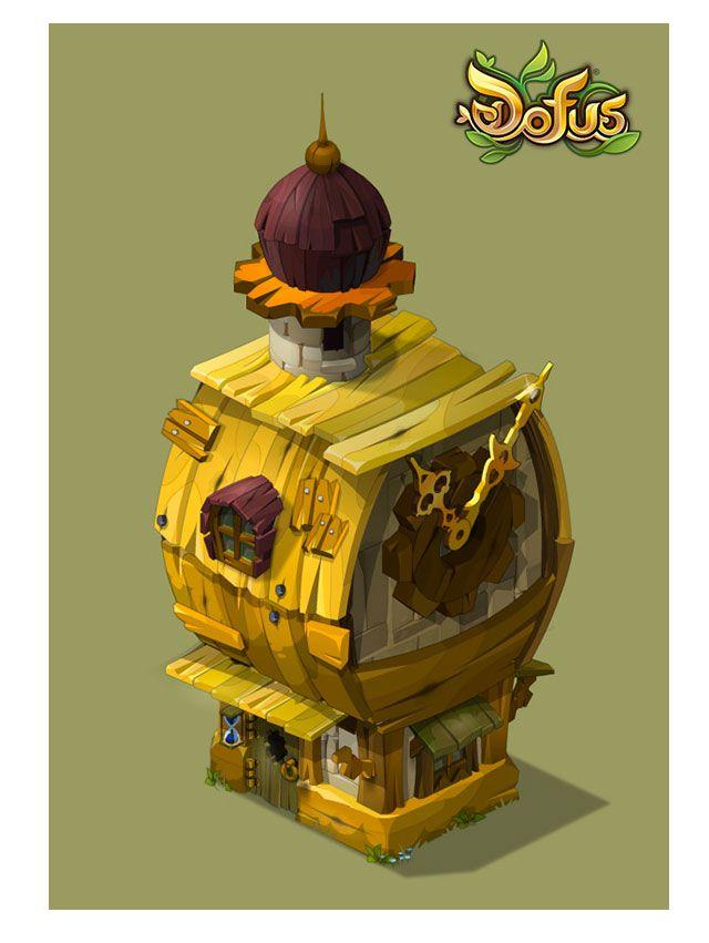 Novas artes do game Dofus, por Charlene le Scanff | THECAB - The Concept Art…