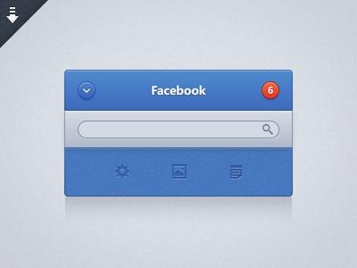Facebook UI / Geldy