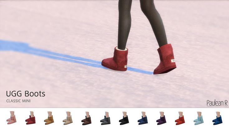[Sims 4] UGG Boots Classic Mini – UGG