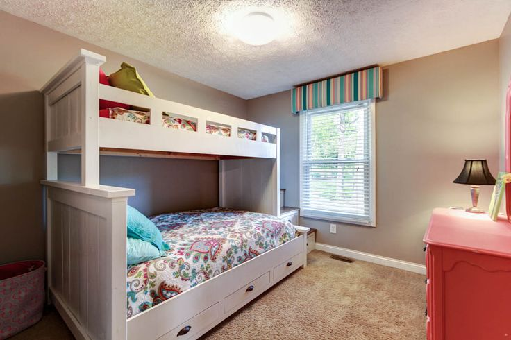 Girls Bunk Beds With Storage Twin Over Full Custom Built