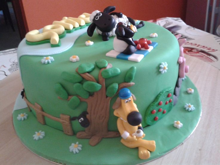 Shaun the Sheep Cake 3