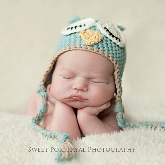 Baby photography: Babies, Owl Baby, Newborns Hats, Little Owl, Baby Owls, Crochet Baby Hats Patterns, Baby Photography, Owl Hats, Owl Patterns