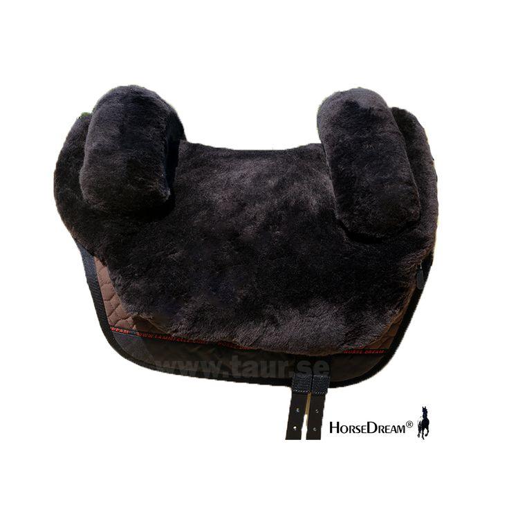 Barbackasadel Horsedream Iberica Plus Brun, för korta ryggar