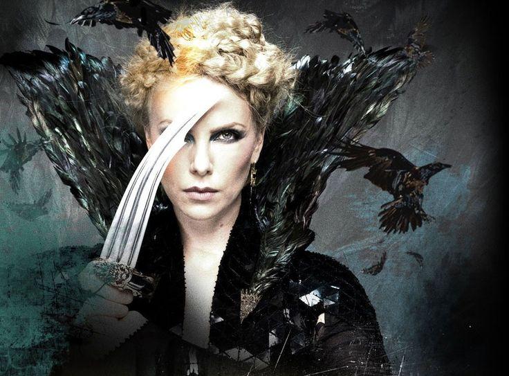 Charlize Theron Snow White Makeup Charlize Theron evil q...