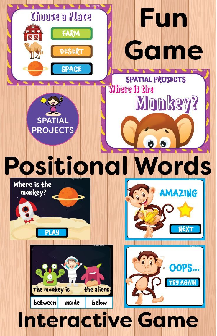 Check Out This Spatial Concepts Resource It Is Filled With Positional Words Activities An Word Activities Positional Words Activities Literacy Center Activity [ 1136 x 736 Pixel ]