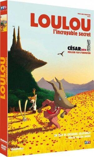#DVD Loulou, l'incroyable secret - sur sauramps.com A noter la sortie en dvd du césar 2014 du meilleur film d'animation.Loulou est un loup que nos jeunes lecteurs connaissent déja sous forme de livre...