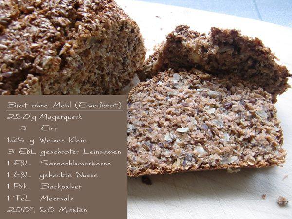 Brot ohne Mehl, Eiweißbrot
