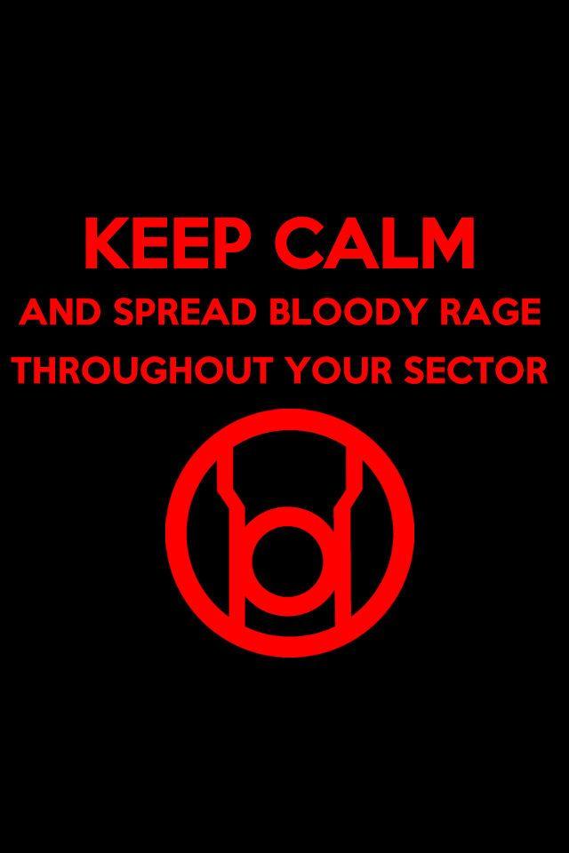 Keep Calm Red Lantern Background by KalEl7.deviantart.com on @deviantART