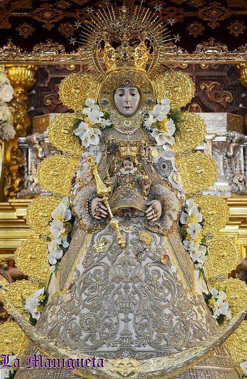 """LA SANTÍSIMA VIRGEN DEL ROCÍO DE ALMONTE (HUELVA). - Semana Santa y Hermandades. Web """"La Manigueta""""."""