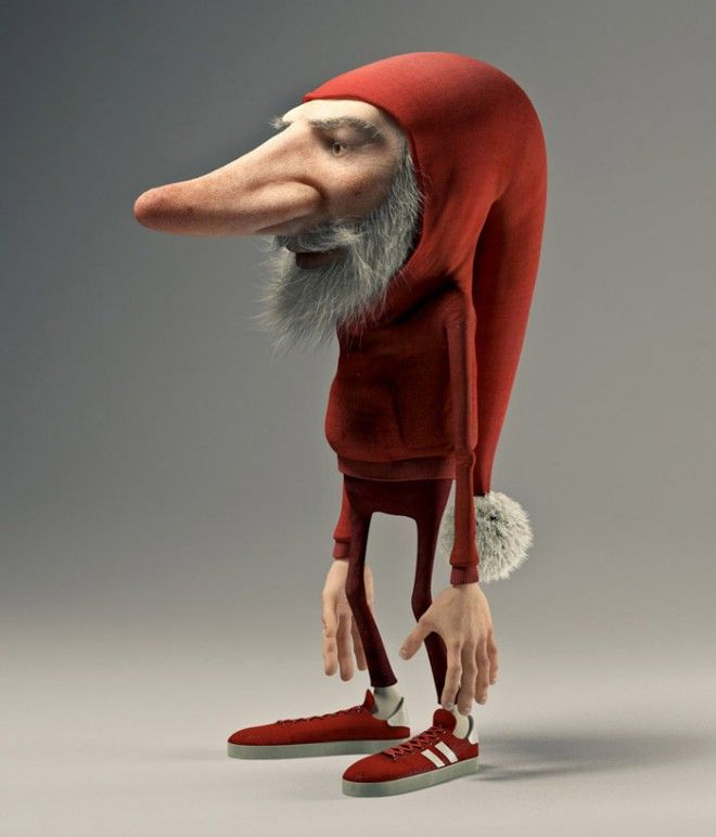 20 Most Funniest 3D character design collection