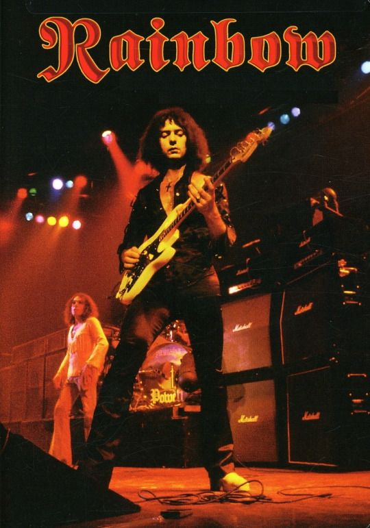 Ronnie James Dio and Richie Blackmore - Rainbow.