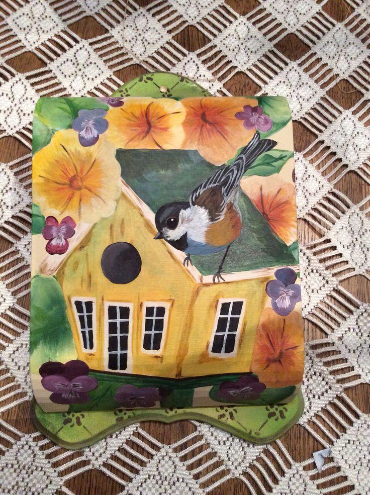 Hand painted KEY box