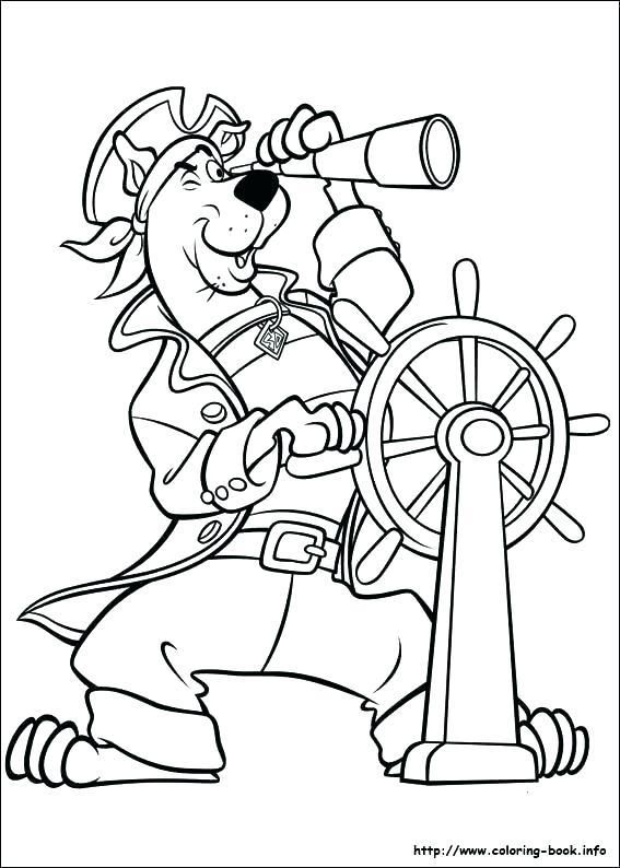 Scooby Doo Coloring Pages Printable Free Coloring Pages Colouring