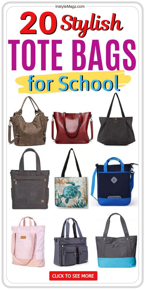Top 20 Cute Tote Bags For School