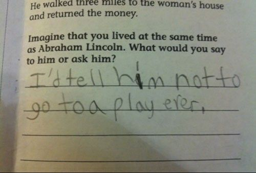 29 Genius Test Answers So Wrong They're Right
