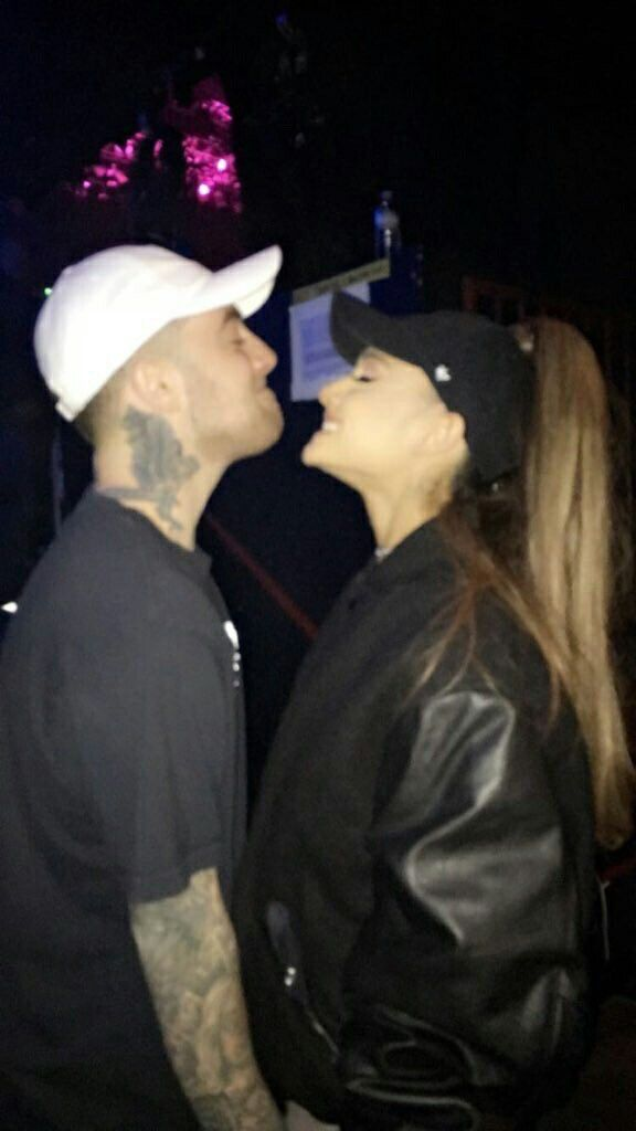 ARIANA GRANDE AND MAC MILLER  #KIMILOVEE  #THEWIFE  PLEASE DON'T CHANGE MY CAPTIONS OR YOU'LL BE BLOCKED!