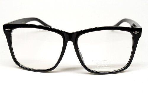 Vintage Retro Wayfarer Clear Sunglasses Eyeglasses Mens Womens Black W118 Style Vault. $7.10