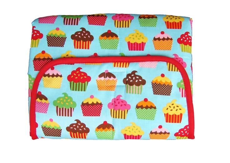 Cambiadores plegables bebe cupcakes cambiador nicolete - Cambiador bebe patchwork ...