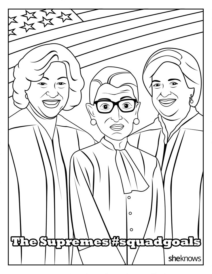 sheknows coloring pages | The Ultimate #SquadGoals Coloring Book — Print It, Color ...