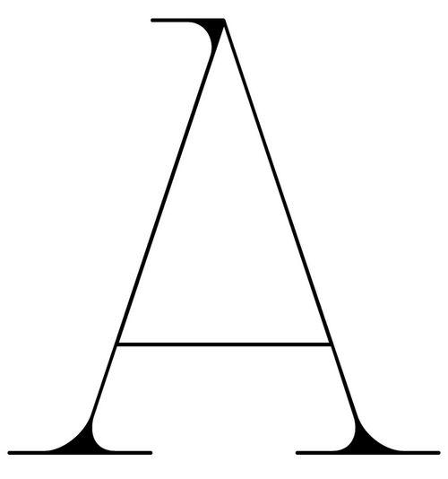a - calligraphie anon
