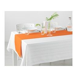 IKEA - MÄRIT, Table-runner, The runner protects the table and creates a decorative table setting.Colors are retained wash after wash thanks to the yarn-dyed cotton.